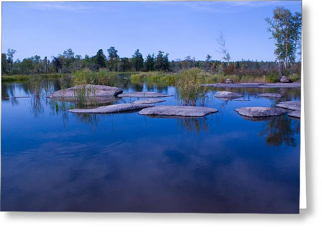 Trans Canada Trail Scenery Greeting Card
