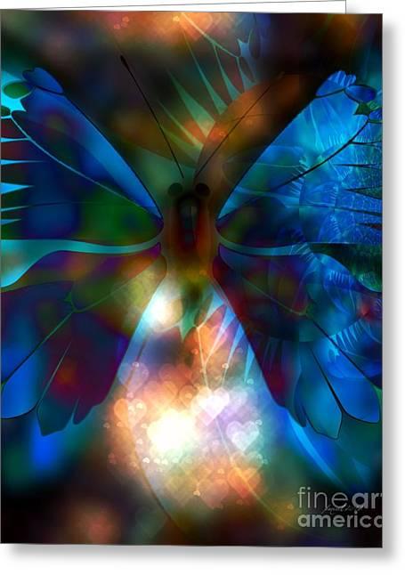 Transforming Hearts Greeting Card