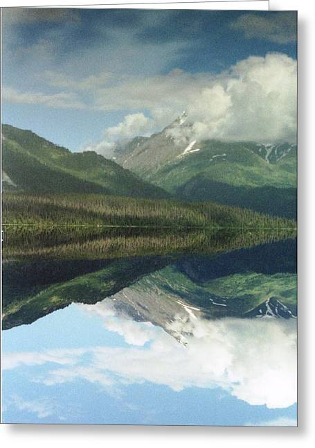 Traveling To Seward Greeting Card by Ann Marie Chaffin