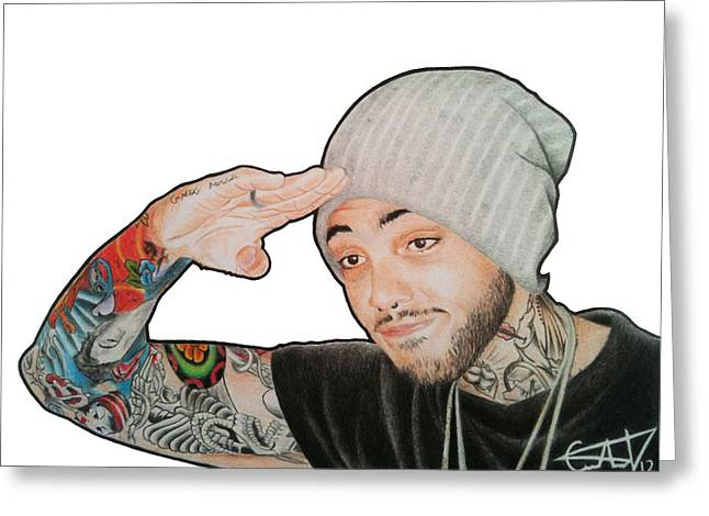 Travie Mccoy Greeting Card