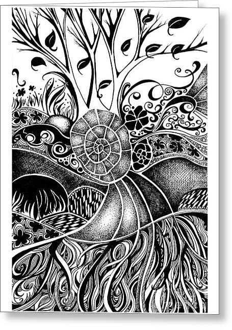 Tree Series 44 Greeting Card