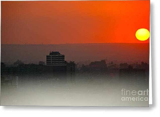 Tripoli Harbor 2010 Greeting Card by Joan McArthur