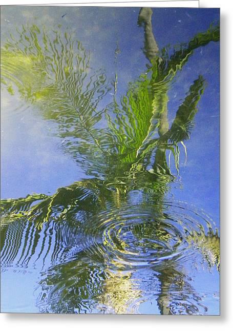 Tropical Abstraction Greeting Card