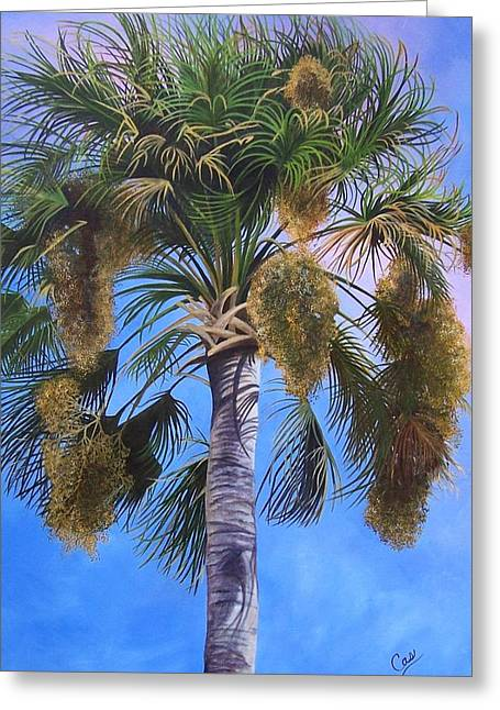 Tropical Breezes Greeting Card