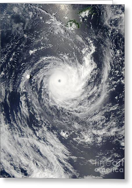Tropical Cyclone Wilma Greeting Card