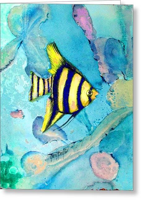 Tropical Fish I Greeting Card