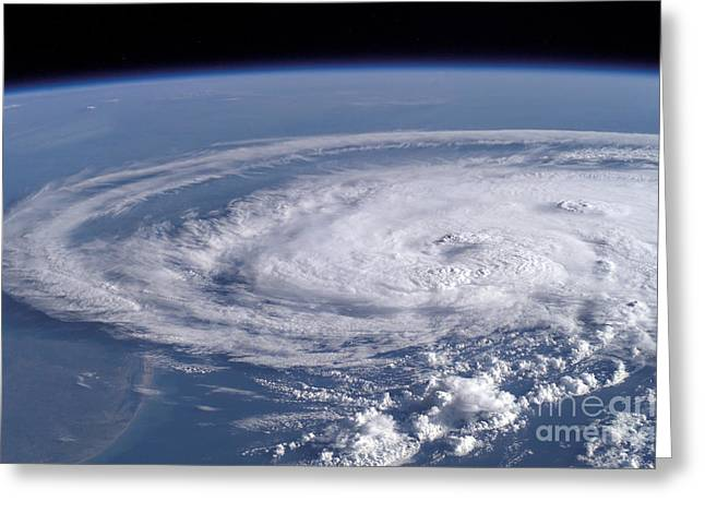 Tropical Storm Claudette Greeting Card by Stocktrek Images