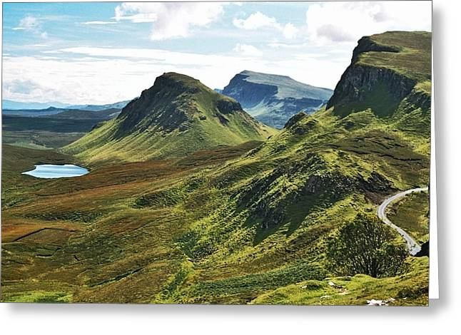 Trotternish Greeting Card by Steve Watson