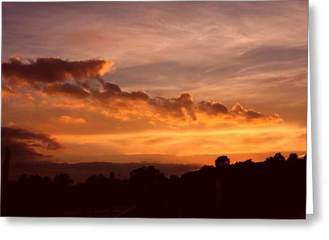 Trowbridge Sunset Greeting Card