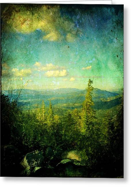 Truckee Trails Greeting Card