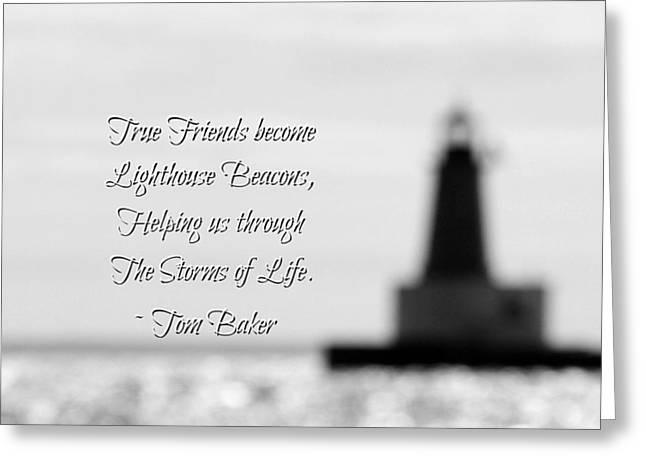 True Friends Greeting Card