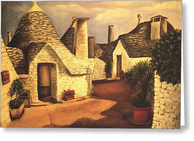Trulli 2 Greeting Card