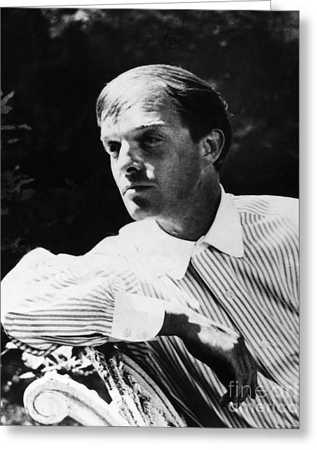 Truman Capote (1924-1984) Greeting Card