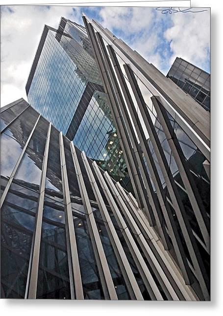 Trylon Towers Greeting Card