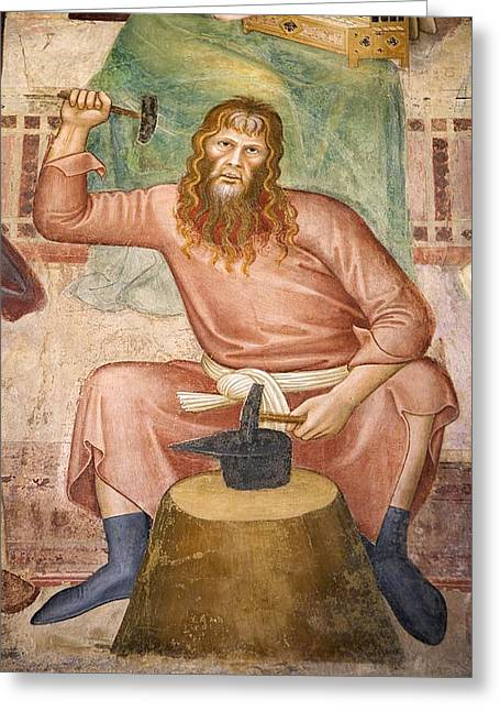 Tubal Cain Greeting Card