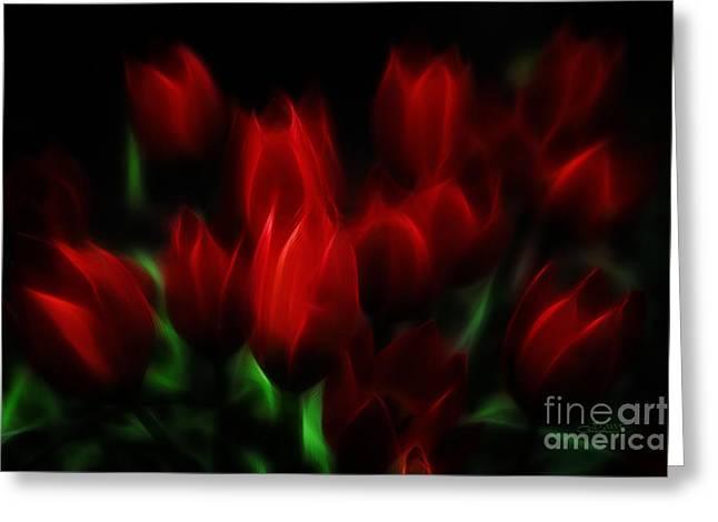 Tulip Essence Greeting Card