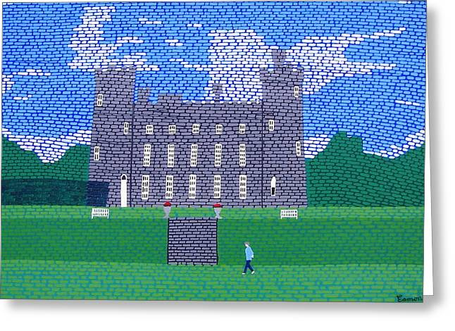 Tullynally Castle Ireland Greeting Card by Eamon Reilly