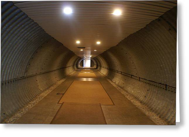 Tunnel Greeting Card by Margaret Steinmeyer