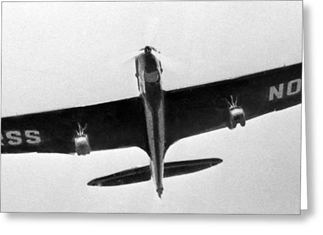 Tupolev Ant-25 Soviet Bomber, 1934 Greeting Card