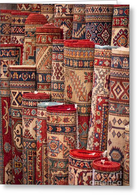Turkish Carpets Greeting Card