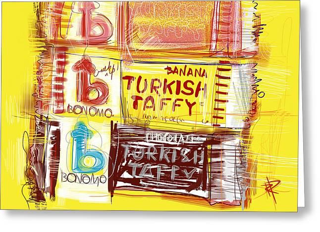 Turkish Taffy Greeting Card