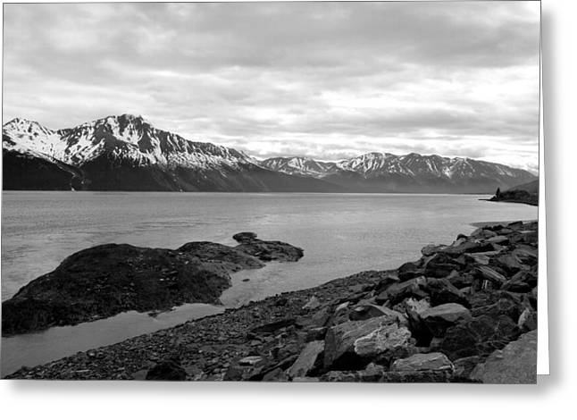 Turnagain Arm Alaska Greeting Card