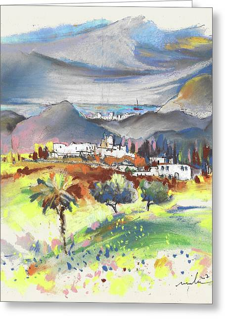 Turre In Spain 03 Greeting Card by Miki De Goodaboom