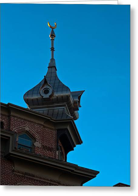 Greeting Card featuring the photograph Turret At Tampa Bay Hotel by Ed Gleichman