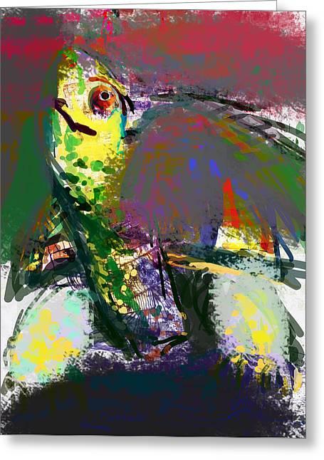 Turtle Greeting Card by James Thomas