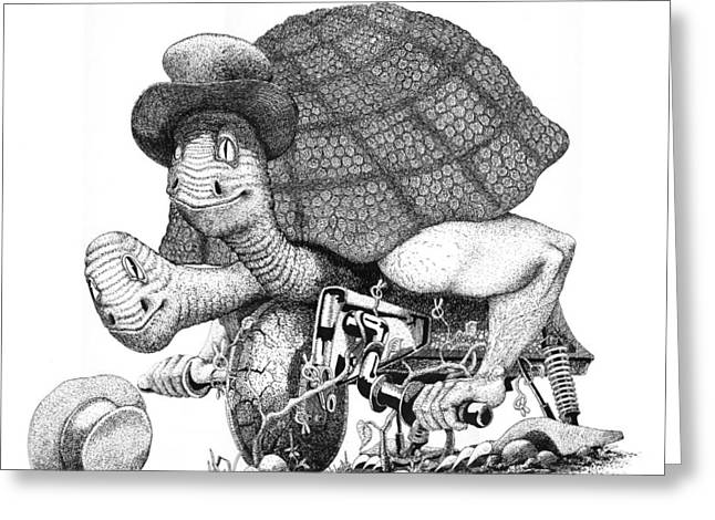 Turtle Thing Greeting Card by Olin  McKay