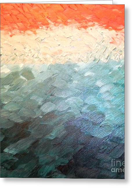 Tuscan Shores Greeting Card