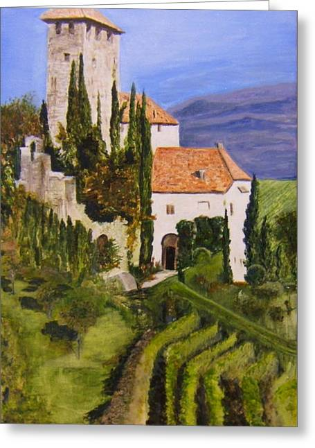 Tuscany 1 Greeting Card by Maureen Pisano