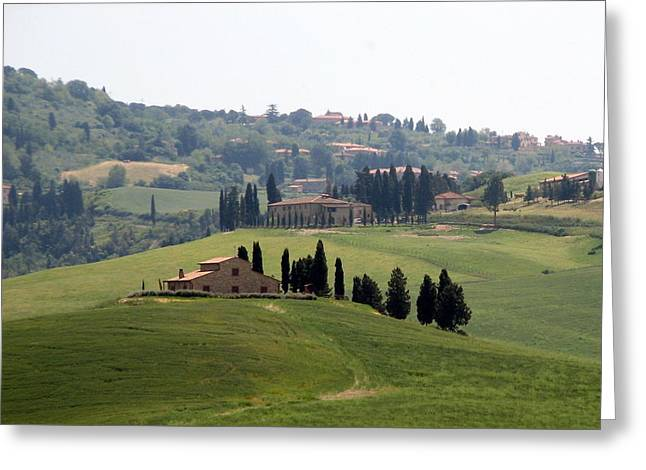 Greeting Card featuring the photograph Tuscany by Carla Parris