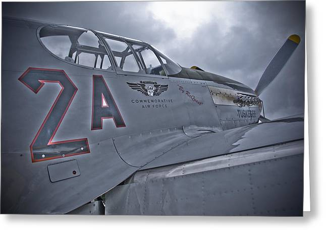 Tuskegee P-51 Greeting Card by Eric Miller