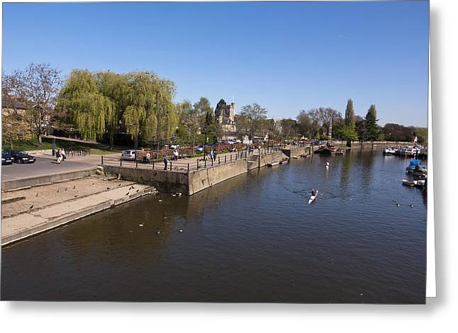 Greeting Card featuring the photograph Twickenham On Thames by Maj Seda