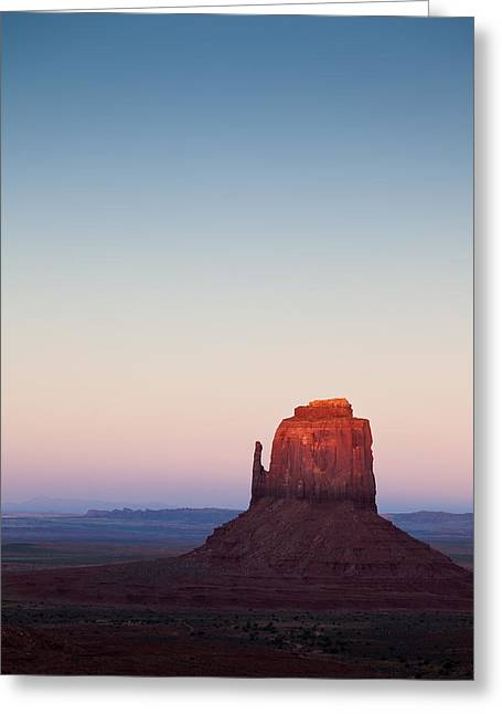 Twilight In The Valley Greeting Card by Dave Bowman