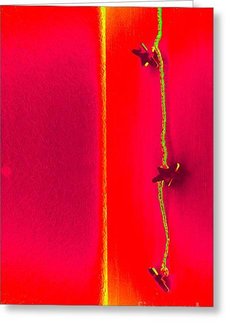 Twinkle Twinkle Little Star Greeting Card by Susanne Van Hulst