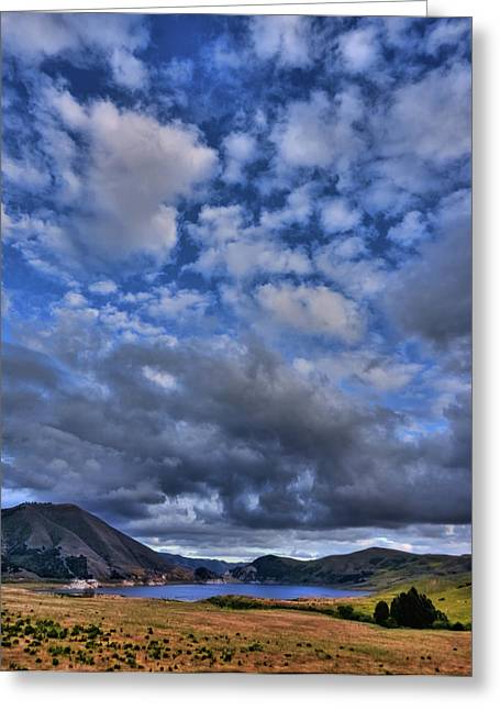 Twitchell Reservoir  Greeting Card