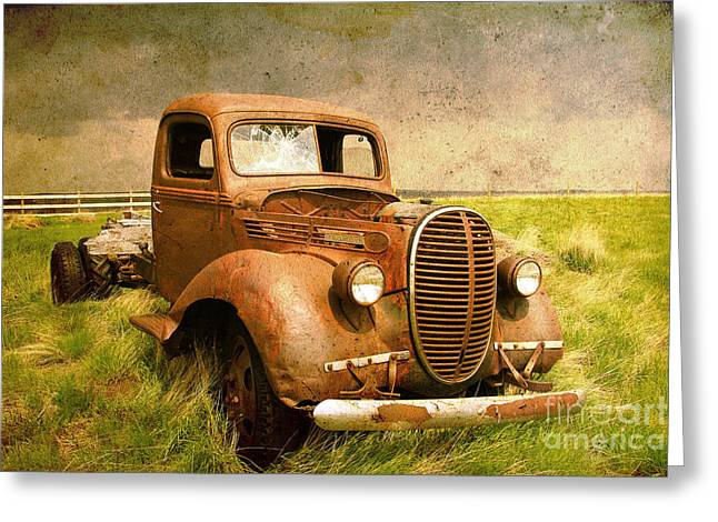 Two Ton Truck Greeting Card