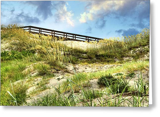 Tybee Island Dunes No.2 Greeting Card by Tammy Wetzel