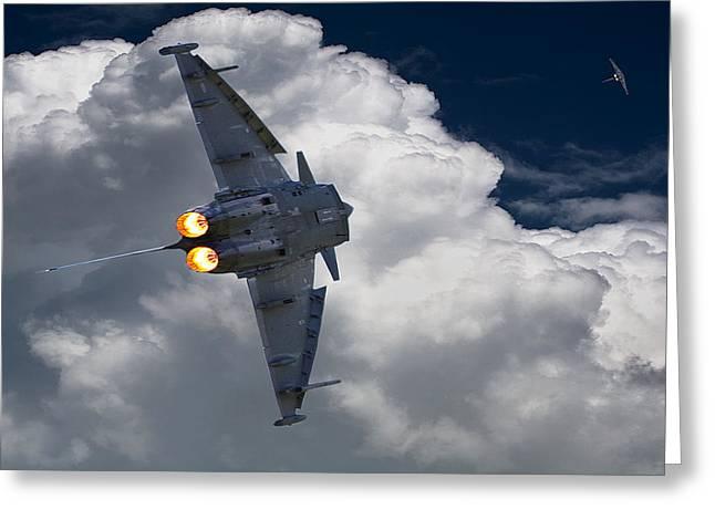 Typhoon Tag Greeting Card