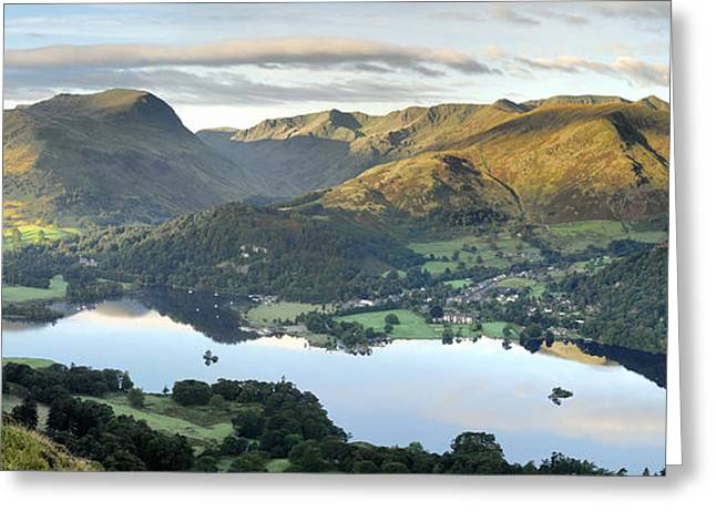 Ullswater From Place Fell Greeting Card by Stewart Smith