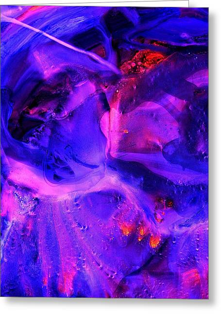 Ultraviolet Greeting Card by Colleen Cannon