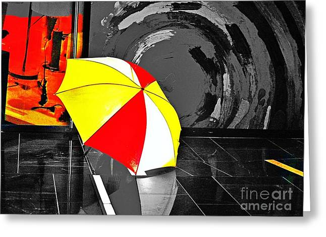 Umbrella 2 Greeting Card