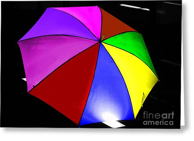 Greeting Card featuring the photograph Umbrella by Blair Stuart