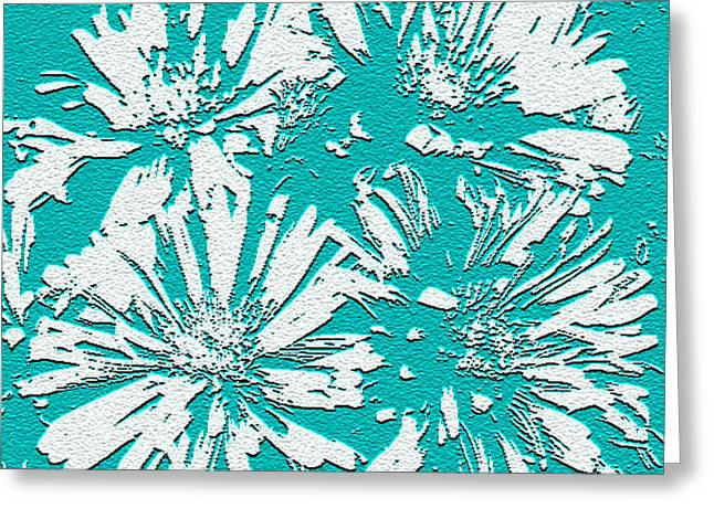 Under A Turquoise Sky Greeting Card by Yvonne Scott
