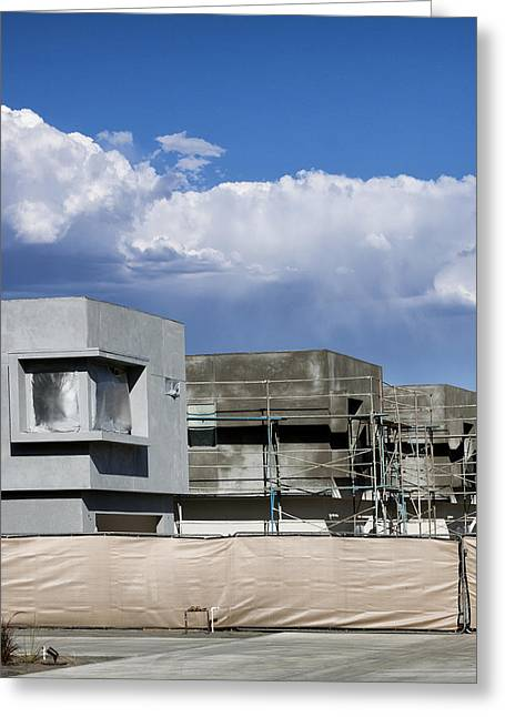 Under Construction Palm Springs Greeting Card