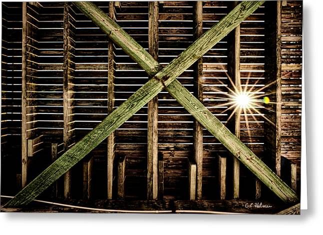 Under The Pier Greeting Card by Christopher Holmes