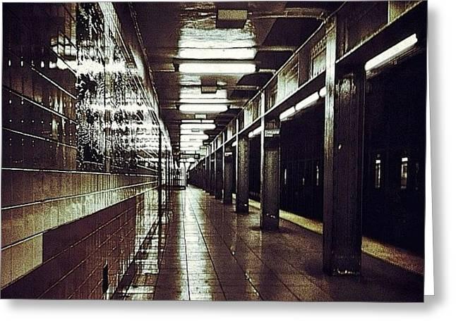 Underground Gotham Greeting Card