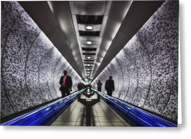 Underground Network Greeting Card by Evelina Kremsdorf